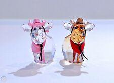 Swarovski Crystal Cowboy And Cowgirl Mos Limited Edition Bnib
