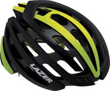 New Lazer Z1 Helmet: Black with Flash Yellow SM