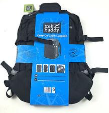 Trek Buddy Carry-on Cabin Bag Luggage Size 55 x 40 x 20cm Black or Purple