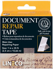 """Lineco Self-Adhesive Document Repair Tape, 1"""" by 35', Transparent 1""""X35'"""