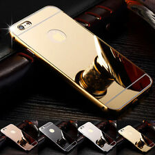 Mirror case Thin Aluminum Metal Ultra PC Back Cover For iPhone 5 5S 6 6Plus