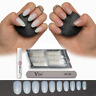 50-600 OVAL NAILS ✔ Short/Medium/Long ✔ Opaque/Clear Full Cover Tips✔ False Fake