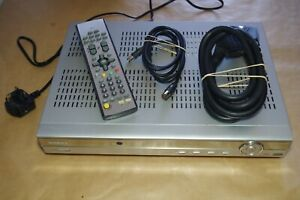 HUMAX PVR-8000T (80GB) TV MEDIA PLAYERS FREEVIEW TV RECORDER With REMOTE