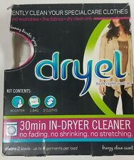 Dryel 30 minute In Dryer Cleaner Kit Home dry cleaning laundry