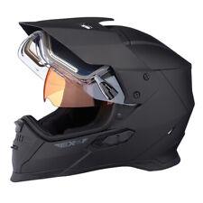 Ski-Doo EX-2 Enduro Helmet Electric Shield Matte Black 448464