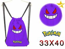 Mochila saco de tela Pokémon Gengar Pokemon