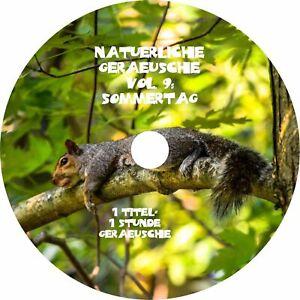 Natürliche Geräusche 9 SOMMERTAG Naturklänge Entspannung Wellness Entspannen CD