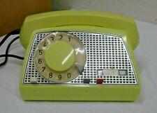 70er Jahre Telefon Telkom RWT Polen Wählscheibe mit TAE Stecker 70s Vintage