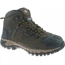 DICKIES MEDWAY LEATHER STEEL TOE CAP WATERPROOF WORK SAFETY ANKLE BOOT BROWN NEW