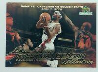 2003-04 Upper Deck Freshman Season Collection Lebron James Rookie RC #80, CAVS
