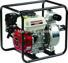 """Honda GX petrol engine with oil alert - Honda 2"""" Water Pump. Honda WB20"""