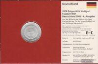 BRD (BR.Deutschland) Jägernr: 520 2006 F Stgl./unzirkuliert Silber 2006 10 Euro