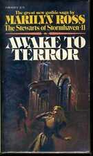Awake To Terror Dark Shadows Author Marilyn Ross Paperback Book