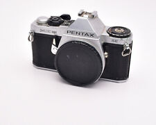 Pentax Silver ME Super 35mm SLR Film Camera Body Only with Cap PK Mount (#4654)