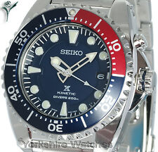 SEIKO KINETIC 200Mt PRO DIVERS WITH STAINLESS STEEL BRACELET. SKA369P1