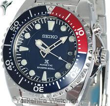 SEIKO KINETIC 200mt Pro Divers con bracciale in acciaio inossidabile. ska369p1