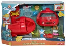 Fisher-Price Octonauts Launch and Rescue Gup X Vehicle 12 Piece set