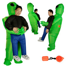 Adult Halloween Funny Inflatable Alien Dress Costumes Party Fancy Dress Costume