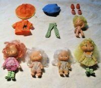 1979 Strawberry Shortcake Doll Lot ~ American Greetings Made in Hong Kong