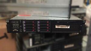 HP DL380 G6 2x Quad Core Xeon E5540 @2.53GHz 32GB RAM 8x300GB HDD #28