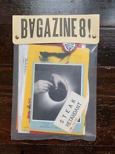 BAGAZINE No.8 X-Ray Book Company ASSEMBLAGE ART ZINE 2020 visual
