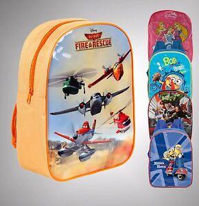Girls Boys Character Minions Avengers Rucksack School Backpack H32xW26xD10 cm