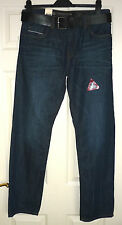 CROSSHATCH Hitchen(£44RRP)Men's Blue Jeans - Size 30 Straight Leg - BNWT
