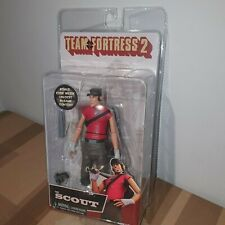 "NECA TEAM FORTRESS 2 SERIES 4 RED THE SCOUT 7"" inch ACTION FIGURE 2018"