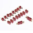 10pairs/20pcs t plug male & female deans connectors style for rc lipo bathm