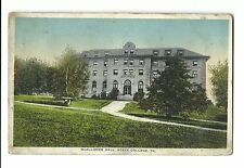 1916 Postcard McAllister Hall State College PA Athletic Store Publisher