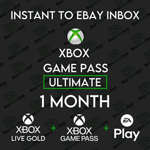 1 Month Xbox Game Pass Ultimate + Xbox Live GOLD + EA ACCESS | INSTANT 24/7