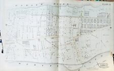 1885 INWOOD WASHINGTON HEIGHTS MANHATTAN NEW YORK 166TH- ELLSWOOD ST. ATLAS MAP