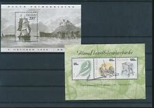 LL97649 Iceland ships artefacts sheets MNH