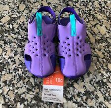 New! Nike Sunray Protect 2(Td) Purple Sandal Little Girls Toddler Size 10C
