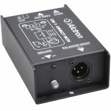 Passive Direct Box DI Box for Keyboardists Acoustic & Electric Guitar, Bass