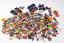 Lego Minifigure accessories lot - tools weapons utensils animals bikes boats