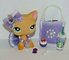 10pc Lps Clothes Accessories Littlest Pet Shop outfit New Design Purple passion