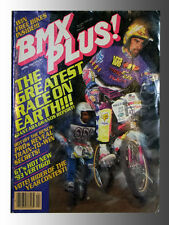 Bmx Plus Magazine Apr. 1993 has Gt's Hot New '93 Vertigo, How to Train Like Pros
