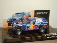 VW Volkswagen Race Touareg Barcelona Dakar 2005 - Minichamps 1:43 in Box *39730