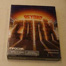 CLASSIC: Beyond Zork by Infocom for Apple II+, Apple IIe, Apple IIc, IIGS - NEW