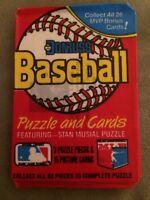 1988 Donruss Baseball Card Wax Pack Lonnie Smith Royals Showing Back