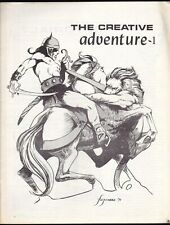 THE CREATIVE ADVENTURE # 1 MAGAZINE COMICS FANZINE DENNIS FUTITAKE KLAUS JANSON