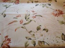 Fryetts Bayswater Autumn Floral 140cm wide Cotton Curtain Fabric Blue 4.80m