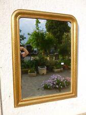 Antica Specchiera '800 FOGLIA ORO lineare 118X90 specchio consolle cassettone 41