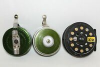 2 Vintage~SHAKESPEARE Silent TRU-ART~Trout FISHING REELS~1835 1845~Air Cel ULTRA