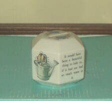 Beatrix Potter Peter Rabbit Wedgwood Made In England Hexagonal Coin Bank