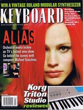 2002 ALIAS Giacchino, Korg Triton Studio & Mackie UAD-1 Review Keyboard Magazine