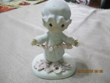 Precious Moments Figurine You Have Touched So Many Hearts 1983 E-2821