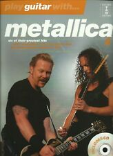 How To Play Metallica Guitar Tab Book CD Backing Track