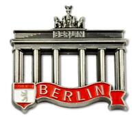 Berlín Metal Imán Puerta de Brandenburgo Con Oso De Viajes Recuerdo Germany